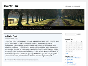 twentyten-screenshot