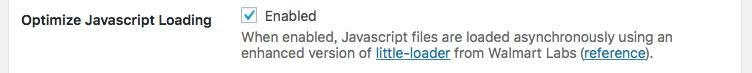 Optimize Javascript Loading