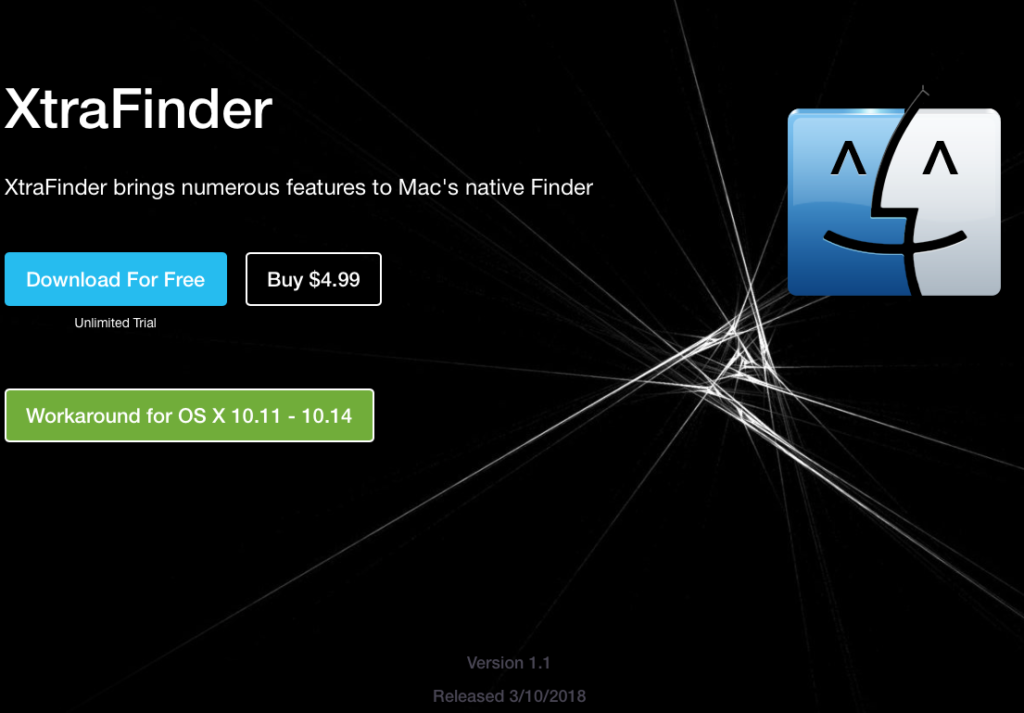 XtraFinder ScreenCapture