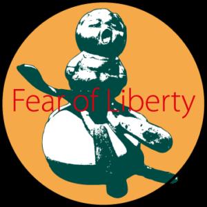 缶バッジアイコン自由の恐怖