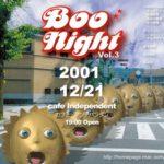 Boo Night 3 flyer