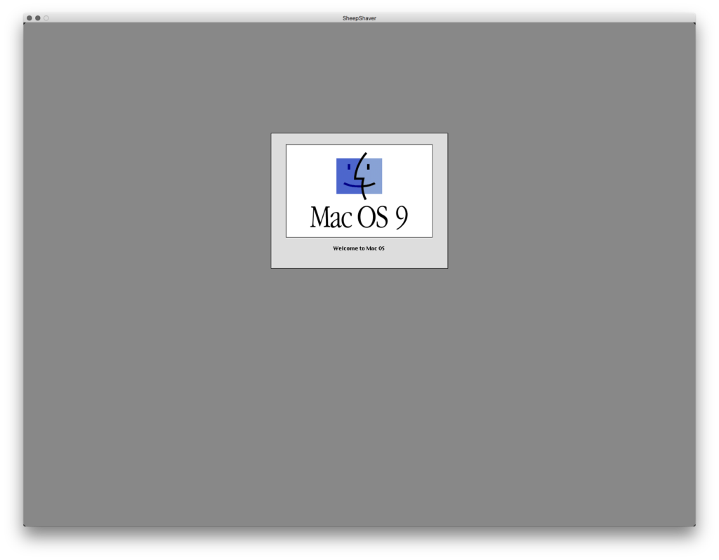 MacOS9起動画面