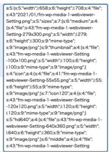 テキストが網羅されたmetadata