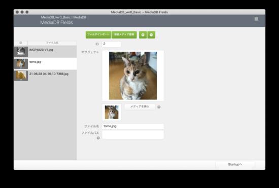 バージョン0ファイル メイン画面